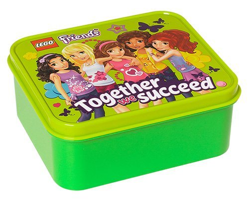 Lego licentiecollectie 40501716 - Friends brooddoos, groen