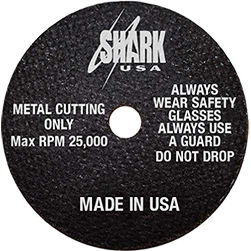 SHARK 12700 3-Inch by 1/32-Inch by 3/8-Inch 10-Pack Double Reinforced Cut-off Wheels