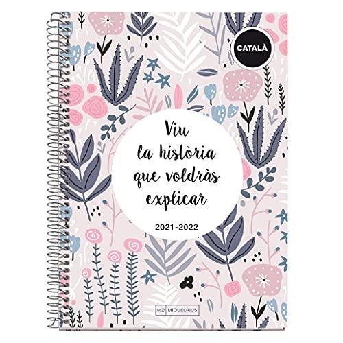 Miquelrius Agenda Escolar 2021-2022 - Tamaño PLUS 15 x 21,3 cm, Semana Vista, Teen la Historia, Idioma...