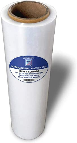 """18"""" Stretch Film/Wrap 1200ft 500% Stretch Clear Cling Durable Adhering Packing Moving Packaging Heavy Duty Shrink Fil..."""