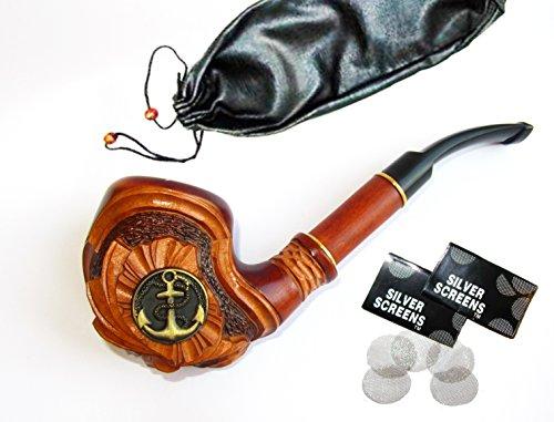 Handgemacht rauchpfeife aus birnbaum Tabak Pfeife Pipe Tabakpfeife