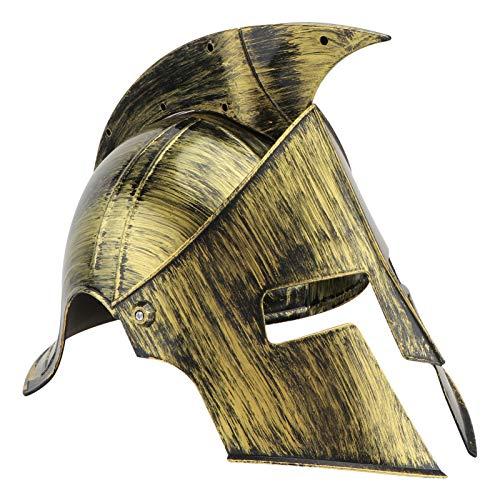 VALICLUD Medieval Knight Hat Vintage Viking Gladiator Soldier Helmet Headdress Photo Prop Masquerade Warrior Diadema para Mujeres Hombres