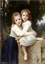 Posterlounge Cuadro de PVC 90 x 130 cm: Two Sisters de William Adolphe Bouguereau