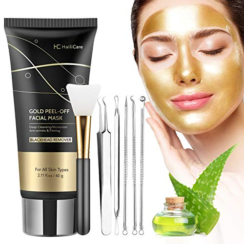 (50% OFF) Gold Peel Off Blackhead Remover Face Mask $7.49 – Coupon Code