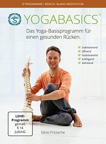 YOGABASICS: Das Yoga-Basisprogramm für einen gesunden Rücken (3 DVDs + Ebook + Online-Zugang)