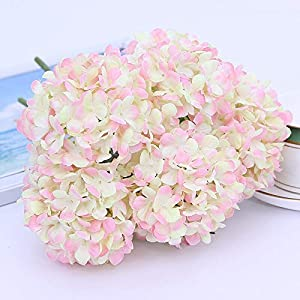 Artificial and Dried Flower 5 Head Artificial Flower Fragrant Snowball bunched Bouquet Home Wedding Decoration artificia Plant Simulation Fake Flower