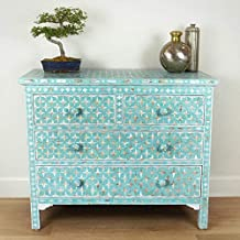 Turquoise Mother of Pearl Star Chest