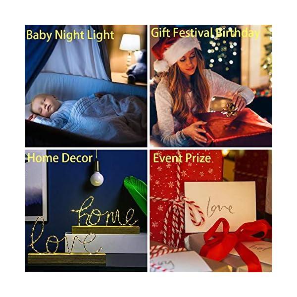 Yeager 2021 NEW 3D luce notturna in titanio per camera da letto dei bambini, decorazione della luce, tavolo di cambiamento, lampada da notte con attacco al titanio regalo ZGLQ 6 spesavip