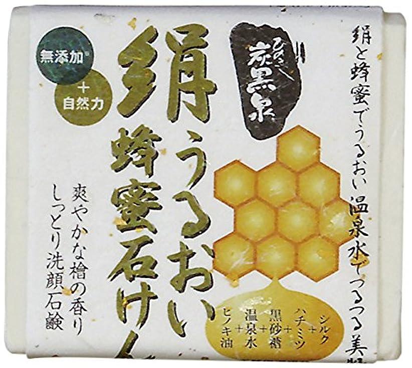 上昇ビーズアクロバット絹うるおい蜂蜜石けん75g