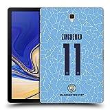 Head Case Designs Oficial Manchester City Man City FC Oleksandr Zinchenko 2020/21 Jugadores Inicio Kit Grupo 2 Carcasa rígida Compatible con Galaxy Tab S4 10.5 (2018)