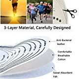 EEUK Magnet Massage Foot Insole, Acupressure Magnetic Therapy Insoles, Acupressure Slimming Orthotic Insoles, Breathable Reflexology Pain Relief Shoe Insoles Cutable Size for Men/Women
