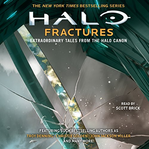 Page de couverture de HALO: Fractures - Extraordinary Tales from the Halo Canon