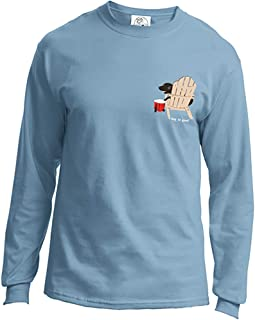Dog is Good Never Drink Alone Unisex Long Sleeve T-Shirt - Great Gift for Dog Lovers