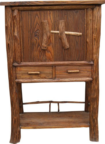 Guru-Shop Kast, Highboard, Bruin, Hout, 139x91x45 cm, Ladekasten Dressoirs