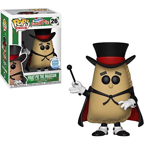 Fruit Pie The Magician (Funko-Shop Exclusive): Hostress Fruit Pie x Funko POP! Ad Icons Vinyl Figure & 1 POP! Compatible PET Plastic Graphical Protector Bundle [#026 / 30871 - B]