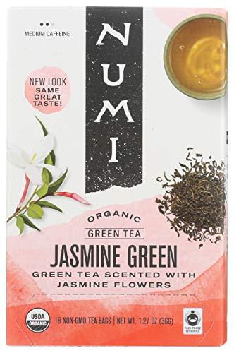 Numi Organic Tea Jasmine Green, 18 ct