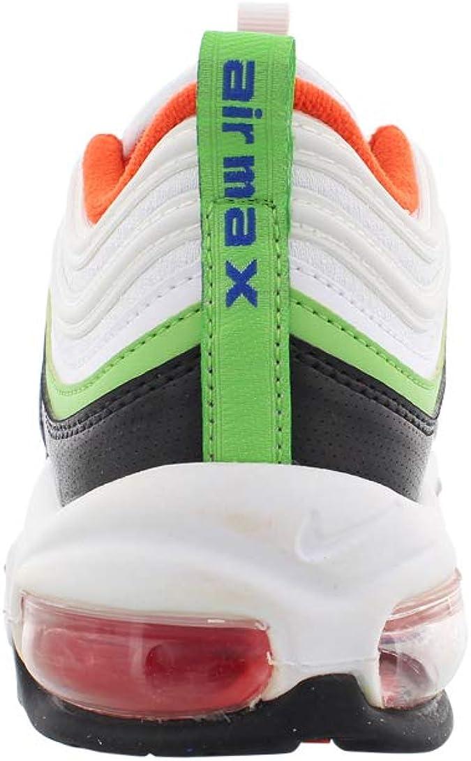 Nike Air Max 97 (enfants), (White / Hyper Royal-green Nebula ...