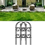 Amagabeli Decorative Garden Fence 24inx10ft...