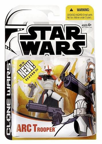 Hasbro Star Wars Clone Wars 2005 ARC Trooper Figura