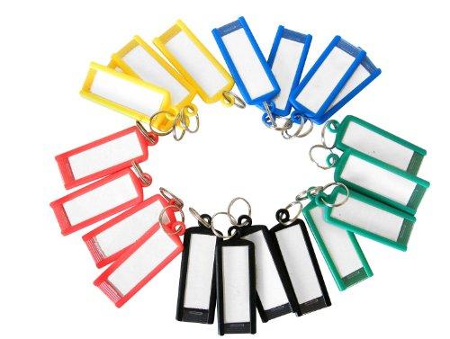 Confezione da 20-Porta-chiavi con anello spezzato