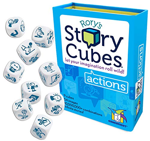 Gamewright Rory#039s Story Cubes  Actions