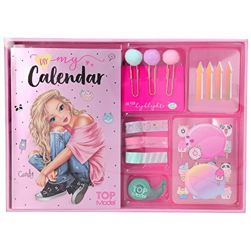 Depesche 11139 - Create your Calendar, Kalender zum selbst gestalten, TOPModel Candy Cake