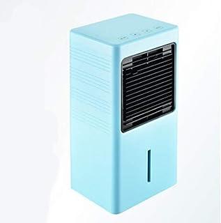 Móviles Evaporativos Ventiladores Ventilador Humidificador Y De Refrigeración Sobremesa Pequeño Refrigerado por Agua Tanque De Agua De 900 ML Panel Táctil Interruptor De Aire Acondicionado Ventilador