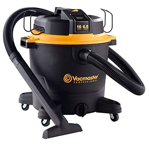 Vacmaster Professional - Professional Wet/Dry Vac, 16 Gallon, Beast Series, 6.5 HP 2-1/2' Hose (VJH1612PF0201) (Renewed)