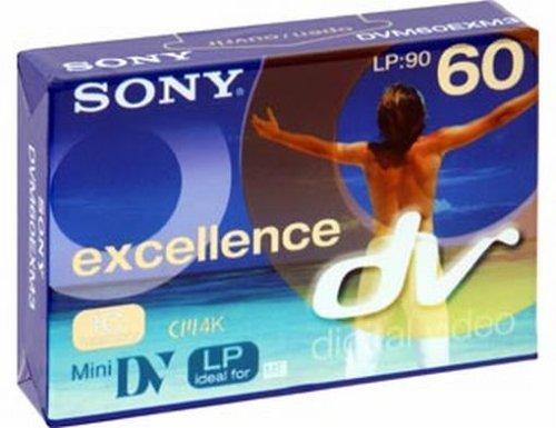 Sony - Digital Video-Kassette, Excellence Qualität mit IC Chip, 60 Minuten