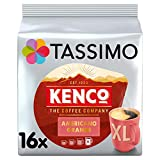 Tassimo Kenco Americano Grande Coffee Pods (Pack of 5, Total 80 pods, 80 servings)