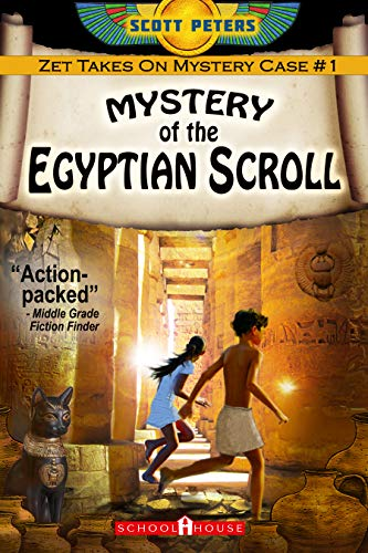Compare Textbook Prices for Mystery of the Egyptian Scroll Kid Detective Zet  ISBN 9781478305705 by Peters, Scott