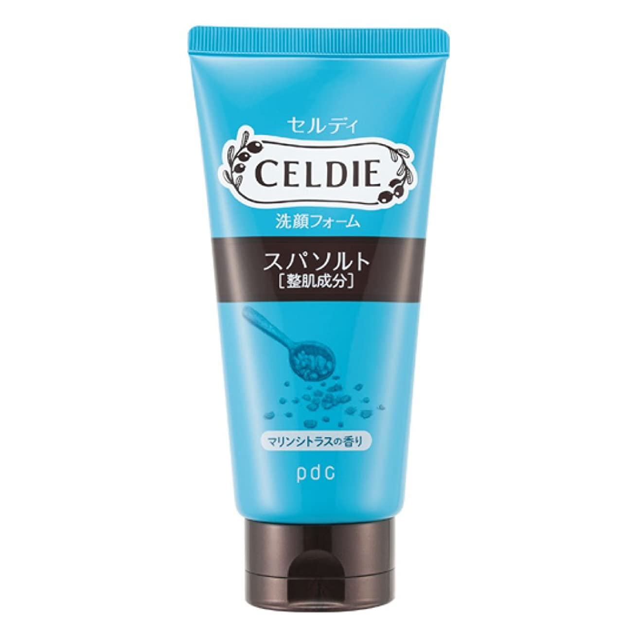 副毎日小説家CELDIE(セルディ) 美肌洗顔 スパソルト 120g