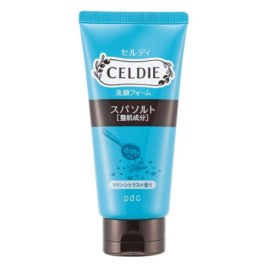 間バルセロナ慢性的CELDIE(セルディ) 美肌洗顔 スパソルト 120g
