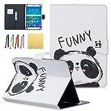 Dteck Schutzhülle für Samsung Galaxy Tablet, Apple iPad, Amazon Kindle, Google Nexus & weitere 16,5-26,7 cm (6,5-10,5 Zoll) Tablet 011 Funny Panda for 7.5-8.5 inch Tablet