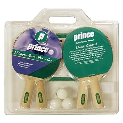 Prince PGS4P 4-Player Tennis Game Room Set