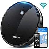 Robocist 850 Robot Vacuum - Smart Robotic Vacuum Cleaner for Pet Hair, Work with Alexa APP Wi-Fi Connected,...