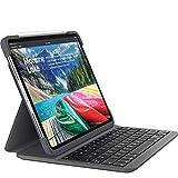 Logitech SLIM FOLIO PRO, rétroéclairé, étui clavier sans fil Bluetooth, pour iPad...