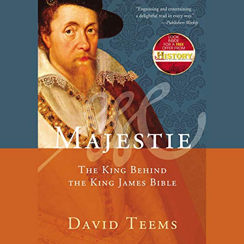 Majestie audiobook cover art