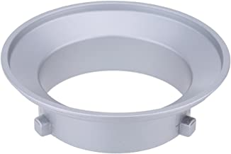 Godox   SA-01-BW 144mm Diameter Mounting Flange Ring Adapter for Flash Accessories Fits for Bowens Andoer Cleaning Cloth