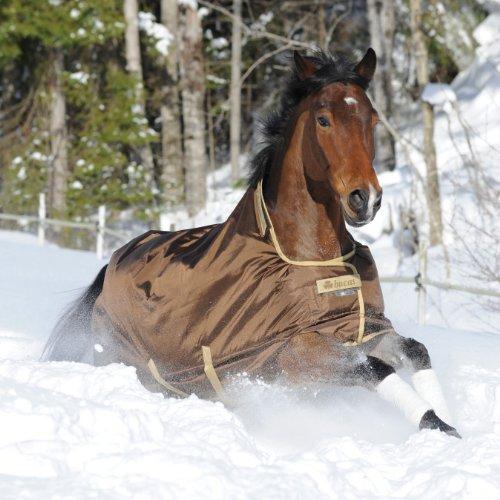 BUCAS Outdoor Pferdedecke SMARTEX EXTRA, schokobraun, 135