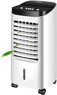 Enfriadores De Aire For El Hogar Unidad De Aire Acondicionado Unidad De Aire Acondicionado Portátil Restaurante Ventilador De Aire Acondicionado Frío (Color : Blanco, Size : 30.5 * 30.2 * 73.6cm)