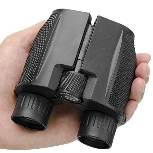 Beileshi Binocular Telescope 10x25 Compact High Powered Outdoor Sports Binocular Telescope Pocket Scope for Birdwatching Concert Travel 114M - 1000M