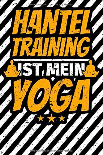 Notizbuch liniert: Hanteltraining Geschenke Hanteln Training Muskeln Fitnessstudio