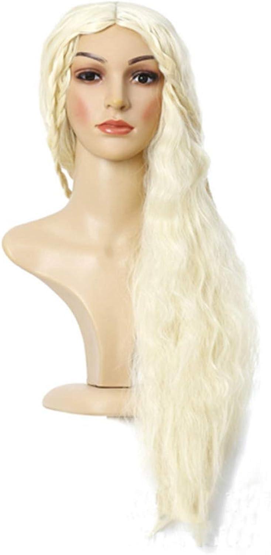 Nalkusxi Fashional Cosplay langes lockiges Haar Perücke Kostüm Party Perücken (blond) (Farbe   Blonde) B07KYQ5N9S Zu einem erschwinglichen Preis    | Verschiedene Waren