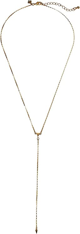 Rebecca Minkoff - Ellie Triangle Y-Necklace