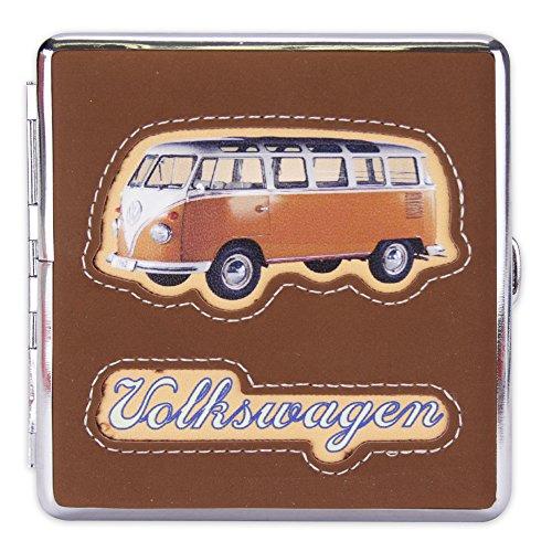 Zigarettenetui Etui Zigarettenbox Zigaretten aus Metall 9,7 x 9 cm
