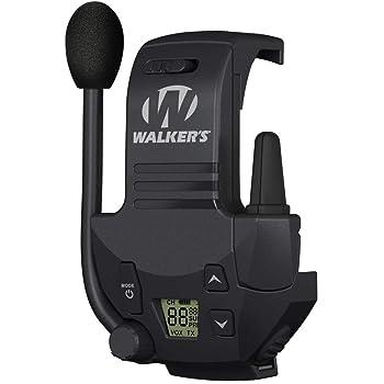 Walker's Razor Walkie Talkie Handsfree Communication up to 3 Miles