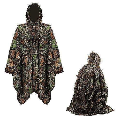 RUXINGGU Lente en Herfst Vogels Kijken Fotografie Jagen Bionische Mantel Camouflage Kleding Camouflage Kleding Multi-functie Geely Service
