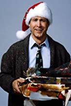 Chevy Chase Christmas Vacation National Lampoon Santa Claus Hat 24X36 Poster