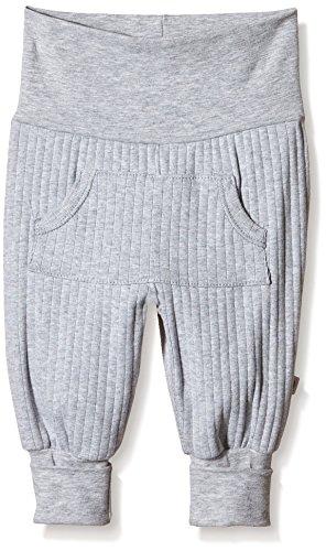 Musli by Green Cotton Cozy Pocket Pants Pantalon, Gris (Pale Greymarl), Nouveau-né Bébé garçon